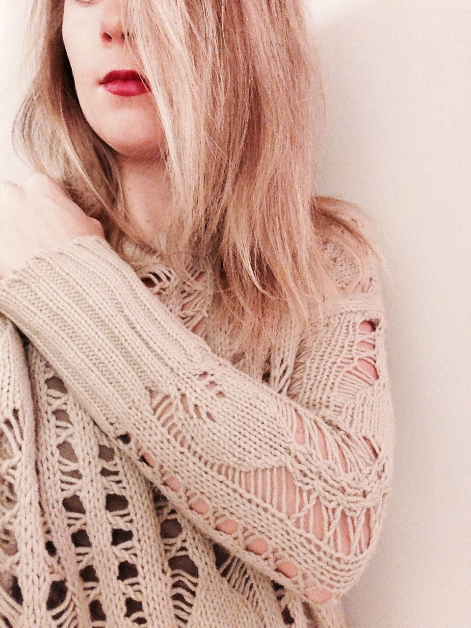 Cozy knit sweater day. #heartloom #sweater
