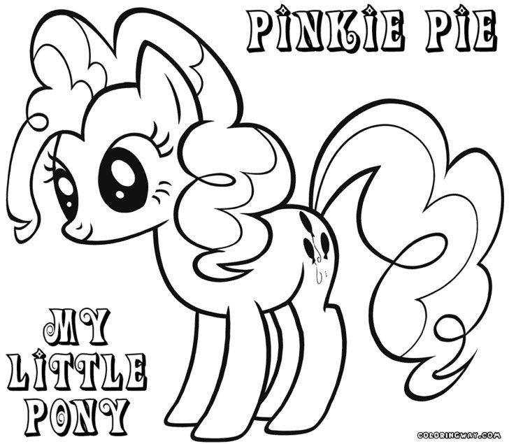 My Little Pony Coloring Pages Pinkie Pie Jpg 748 635 My Little Pony Coloring Coloring Pages Valentines Day Coloring Page