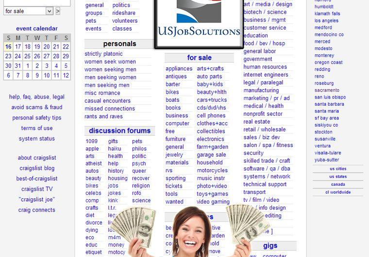 Usjobsolutions Fix Your Current Craigslist Ad For Better Results For 5 On Www Fiverr Com Usjobsolutions Digital Marketing Event Calendar Online