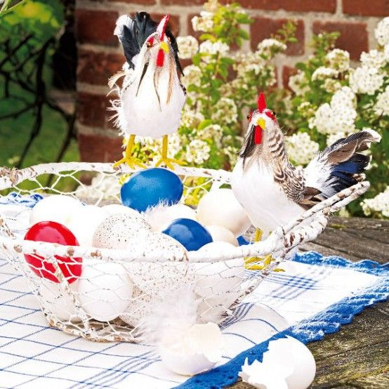 Decoration, Awesome Decorating Plastic Easter Eggs Easter Table Decoration Ideas: Enchanting Animals Easter Decoration Ideas