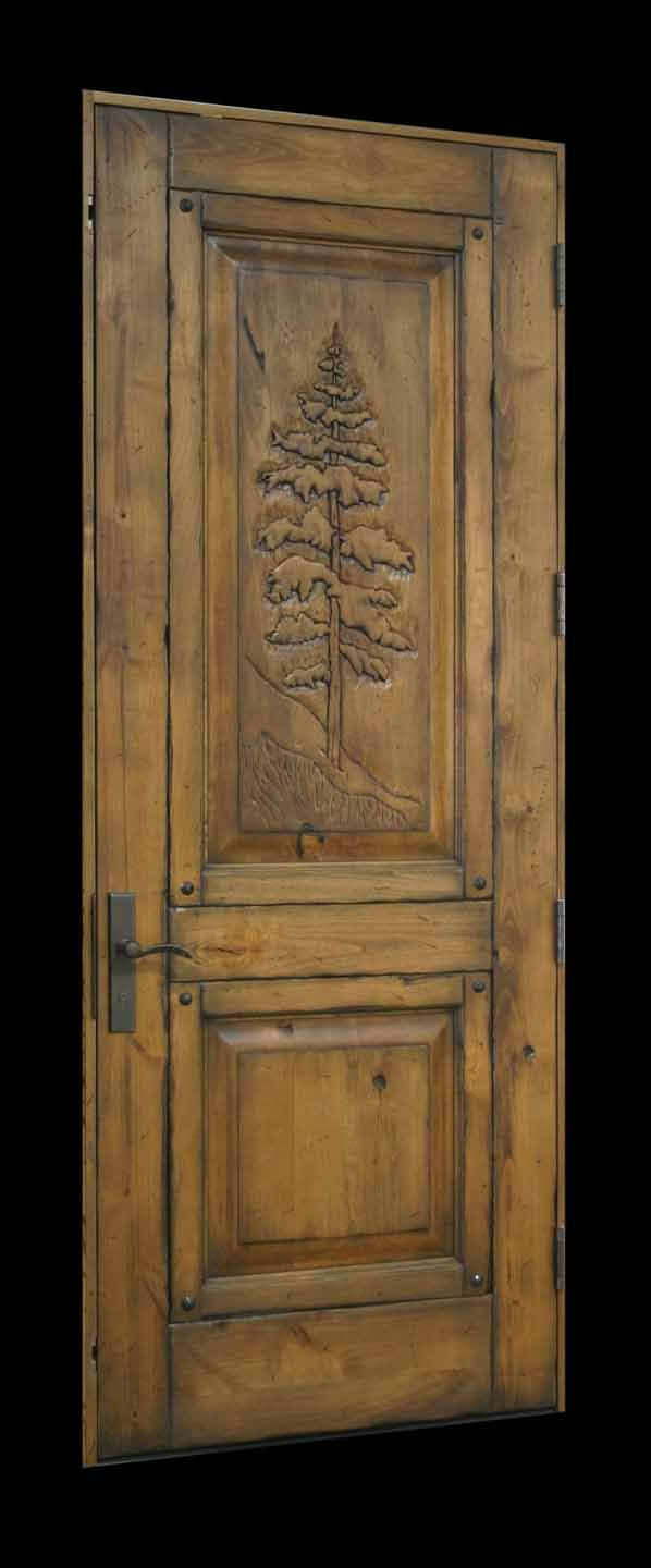 McCall Style Doors, dutch, louvered, hand carved wood doors