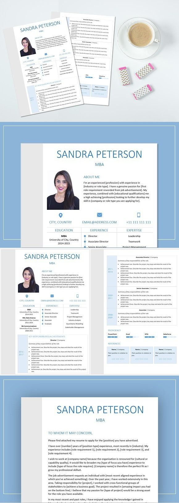 Resume and cover letter Cover letter for resume, Cover