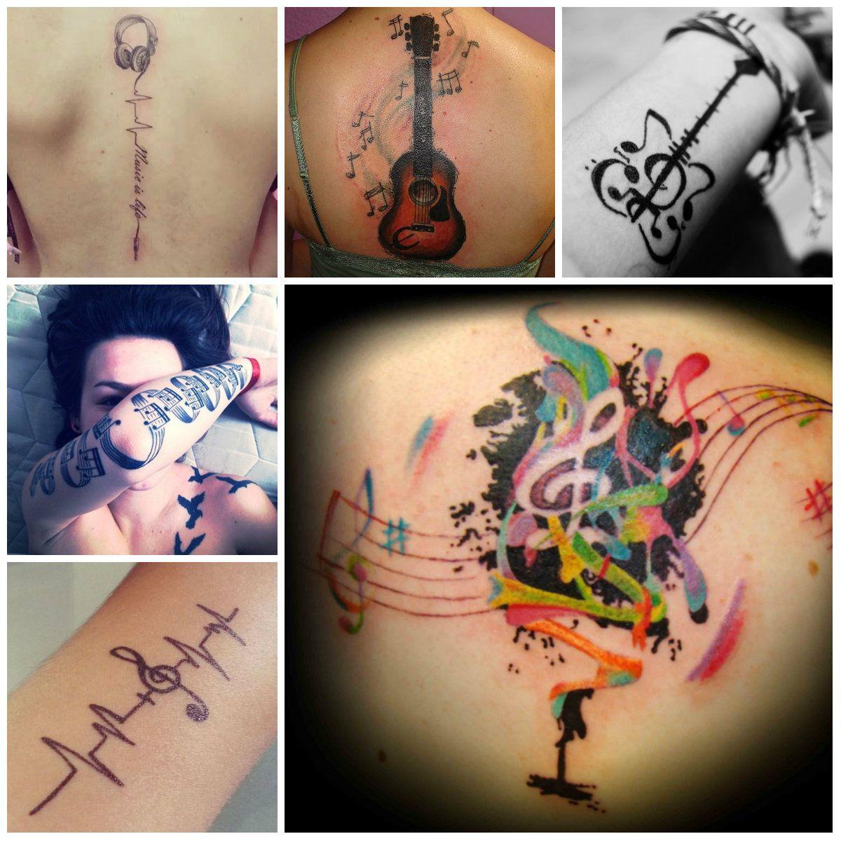 Music tattoo designs tattoo ideas pictures tattoo ideas pictures - Cool Music Tattoo Designs 2016