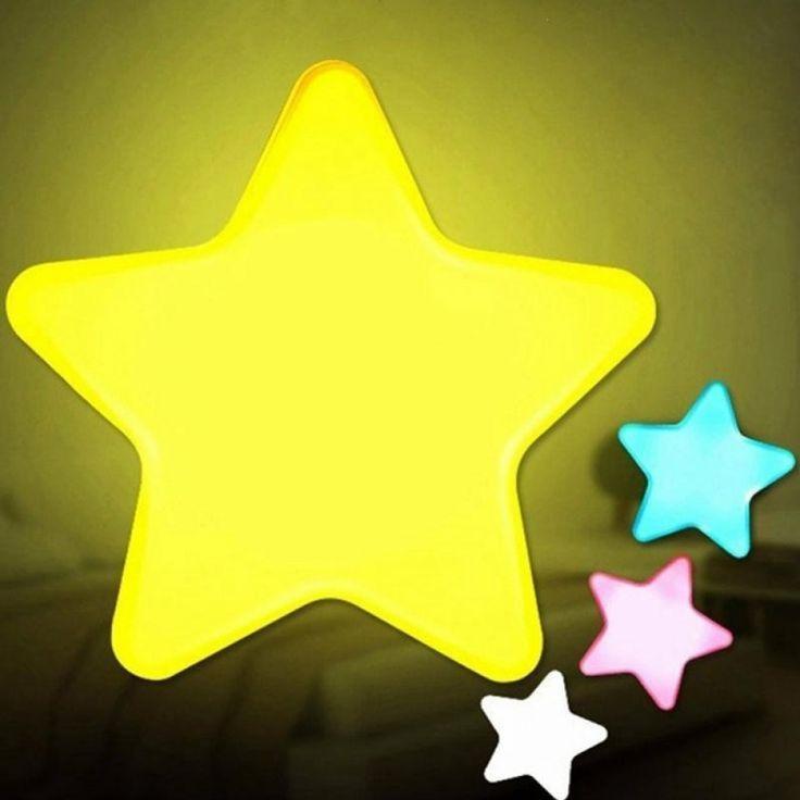 Kids Room Star Shaped Led Night Light