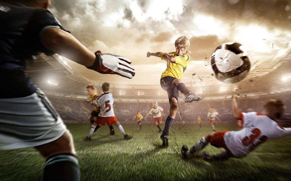 Playing Football Hd Wallpapers Very Beautiful Picture And Much