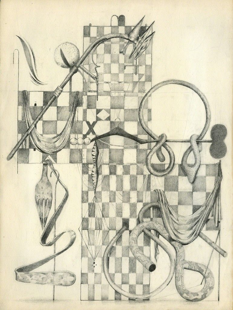 Eric Carlson Timoteo, 'Jaula Juego: Night Watch proto Hanger Calle Tenedor,' 2015, Patrick Parrish Galería