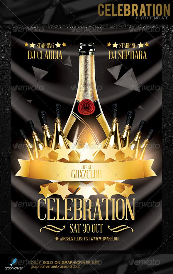 celebration flyer