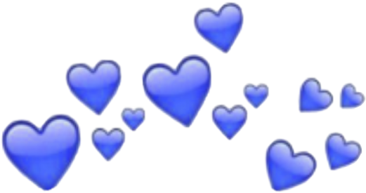 Discover Trending Love Stickers Blue Heart Heart Crown Heart Doodle