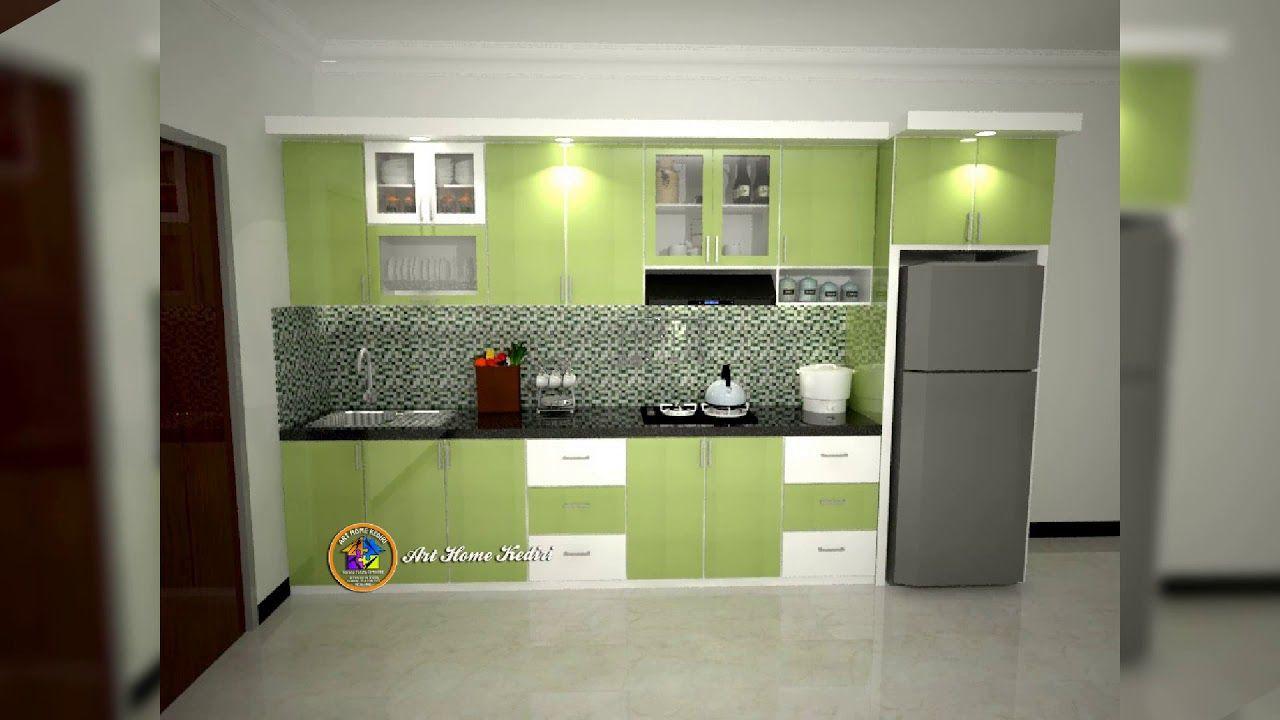 Dapur Minimalis Modern Desain Kitchen Set Minimalis Homyracks