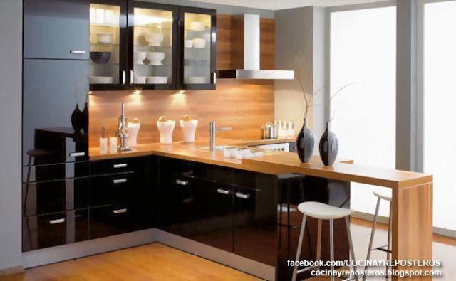 Cocinas con barra : cocina y reposteros: decoración, fotos y ...