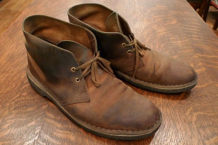 Clarks Beeswax Desert Boot. at | Mens boots
