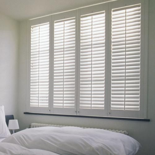 Composite Shutters Blinds Com In 2020 Budget Blinds Shutters Blinds Wood Shutters
