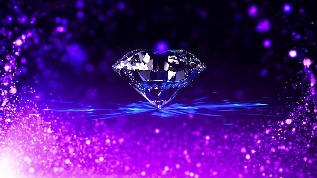 Romantic And Beautiful Purple Particle Crystal Diamond Dynamic Backgroun Beautiful Wallpapers Cool Backgrounds Wallpaper Galaxy purple diamond wallpaper