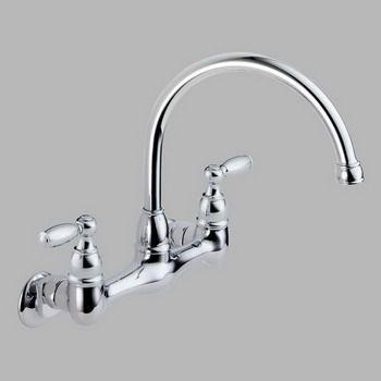 Peerless Wall Mount Kitchen Faucet Check more at https://rapflava ...