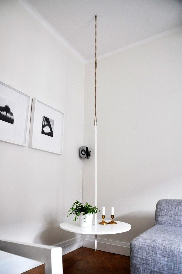25 Amazing Diy Hanging Table Ideas Hanging Table Side Table Design Diy Hanging