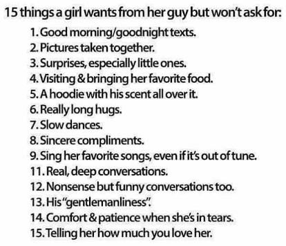 How to ask a girl what they think about dating