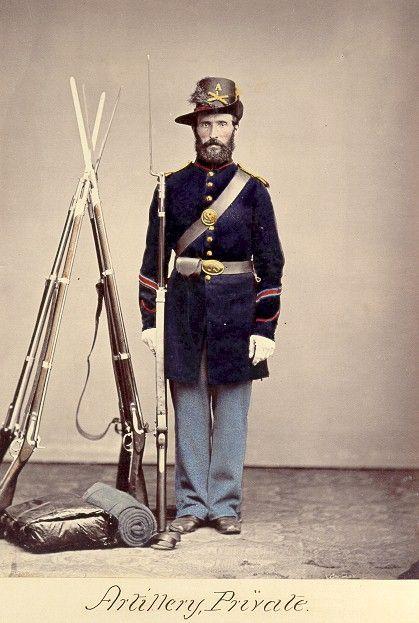 Civil war artillery uniform, nude asian mid age woman