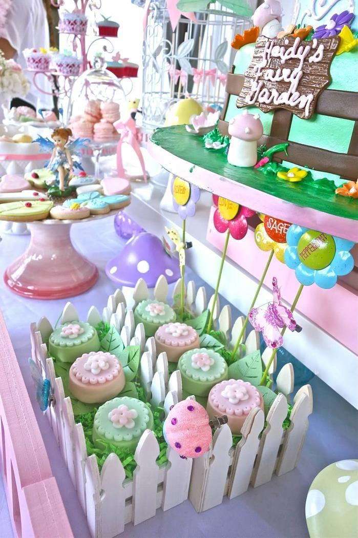 Magical Fairy Garden Party Planning Ideas Supplies Idea Cake Fairies