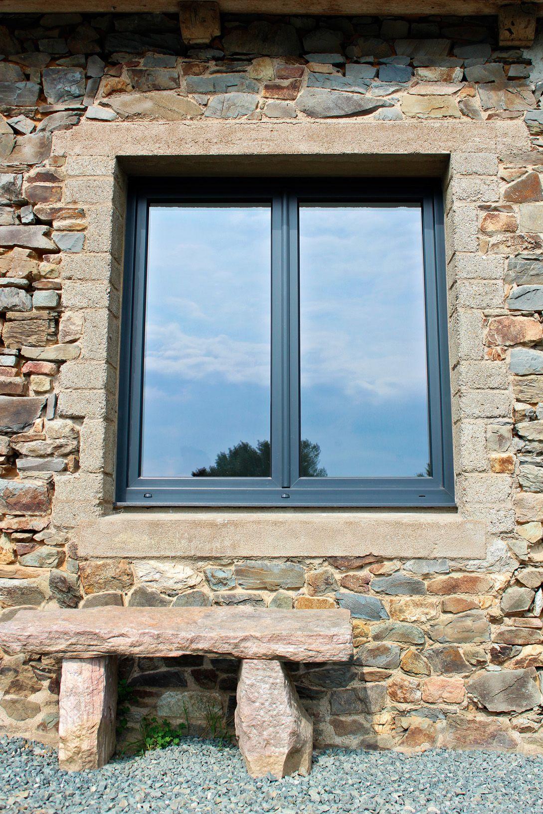 Fenêtre Pvc Altimo à Frappe Swao Performance Un Ouvrant De 80 Mm