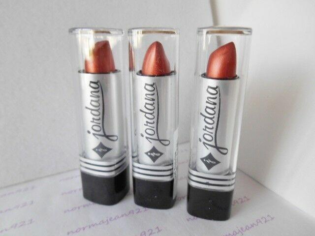 Lot of 3 JORDANA Lipsticks #055 Sunrise #JORDANA