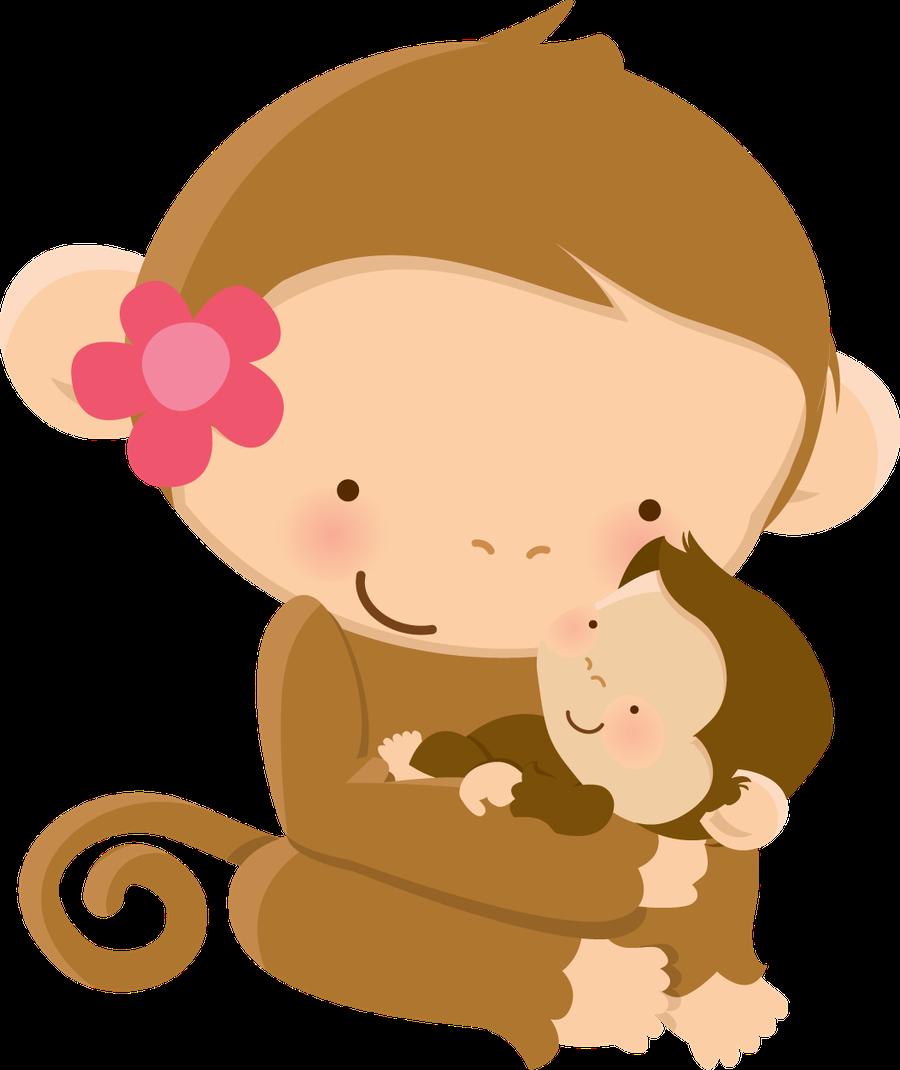 kammytroquinhas s profile minus animales con su mama pinterest rh pinterest ch Monkey Clip Art Dad Monkey Border Clip Art