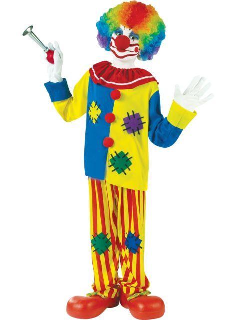 Child Big Top Clown Costume , Party City