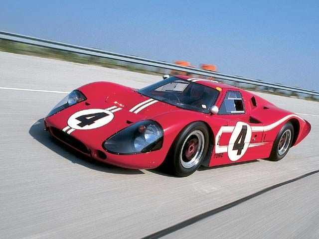 Ford Gt40 Mk Iv Specifically Designed To Beat Ferrari Who