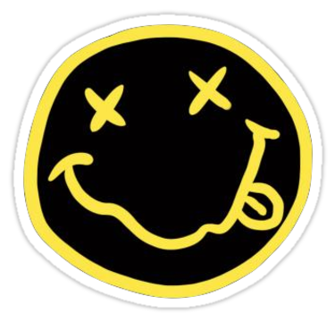 """""""Nirvana"""" Stickers by pophip 