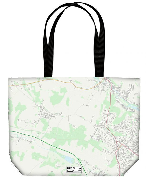 Shopping Bag Chiltern HP6 5 Map