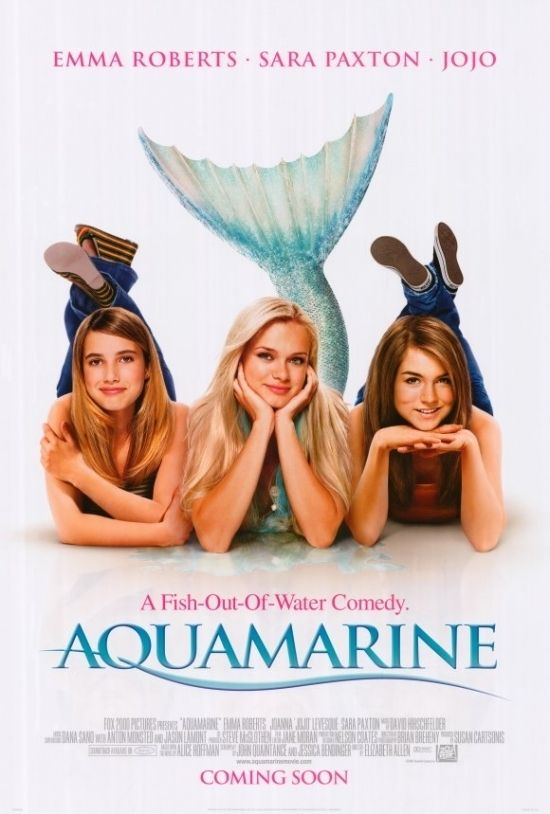 Aquamarine Movie Poster Print (27 x 40)