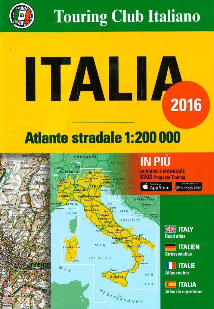 Italy, Road Atlas by Touring Club Italiano | Italy Maps