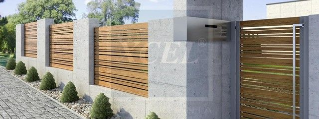 Modern Boundary Wall Google Search House Ideas