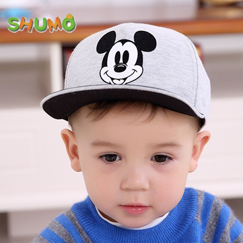 Mickey and Pikachu hats | Baseball cap boy, Kids hats, Kids baseball