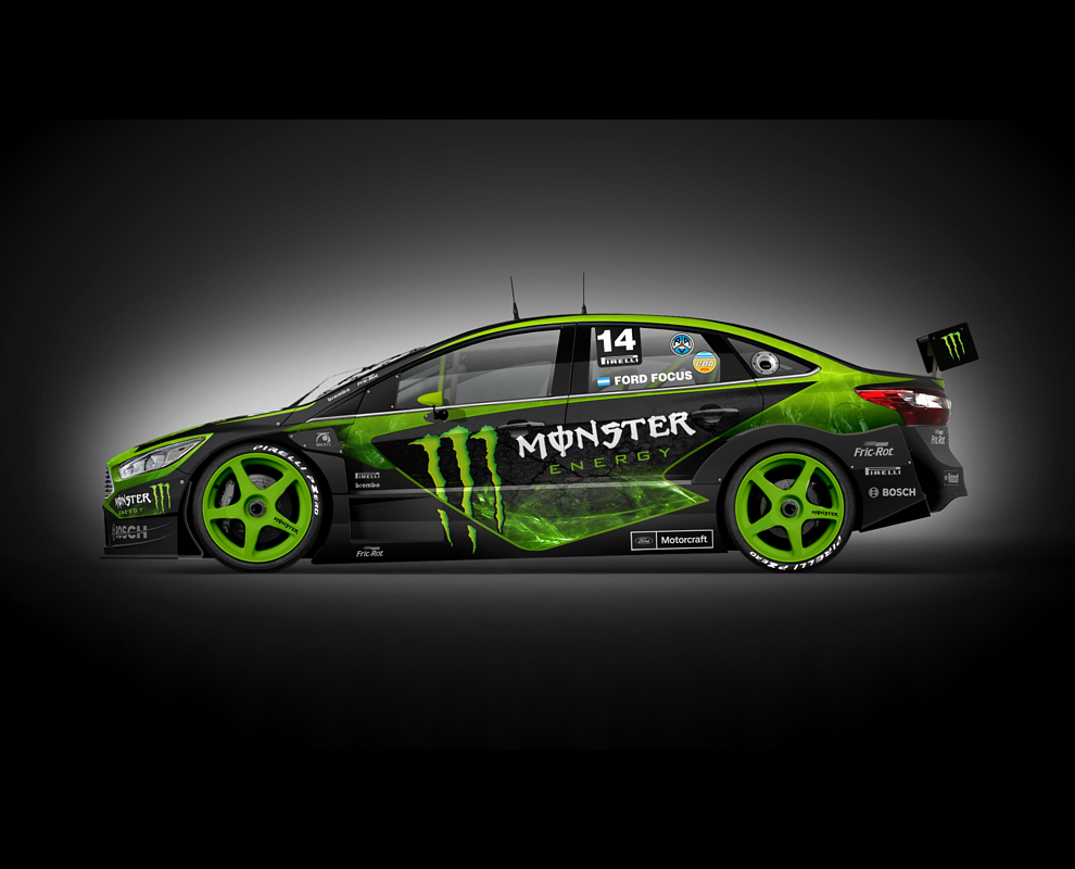 Best Racing Cars Race Monster Energy Ford Focus Dacia Engin