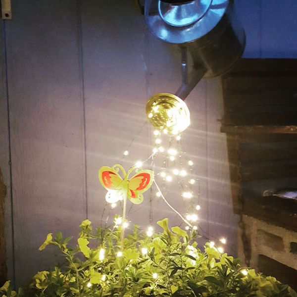 Watering Can With Lights Fairy Lights Garden Lighting