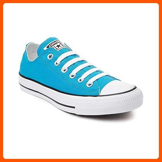 Converse Chuck Taylor All Star Lo Neon (Mens 11/Womens 13, Vivid Blue