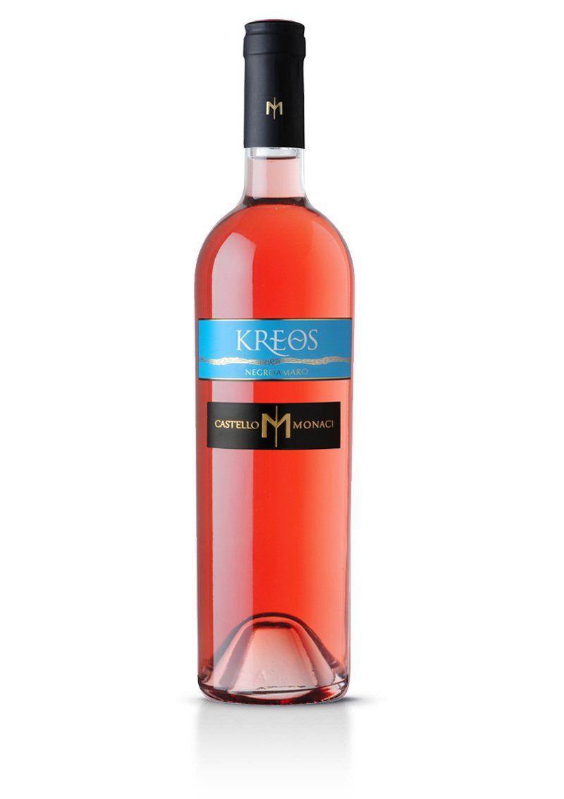 Kreos Negroamaro Rosato Igt Salento Vino Rosato Vino Italiano Salento