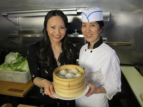 Ching He Huang from the #CookingChannel talking # ...
