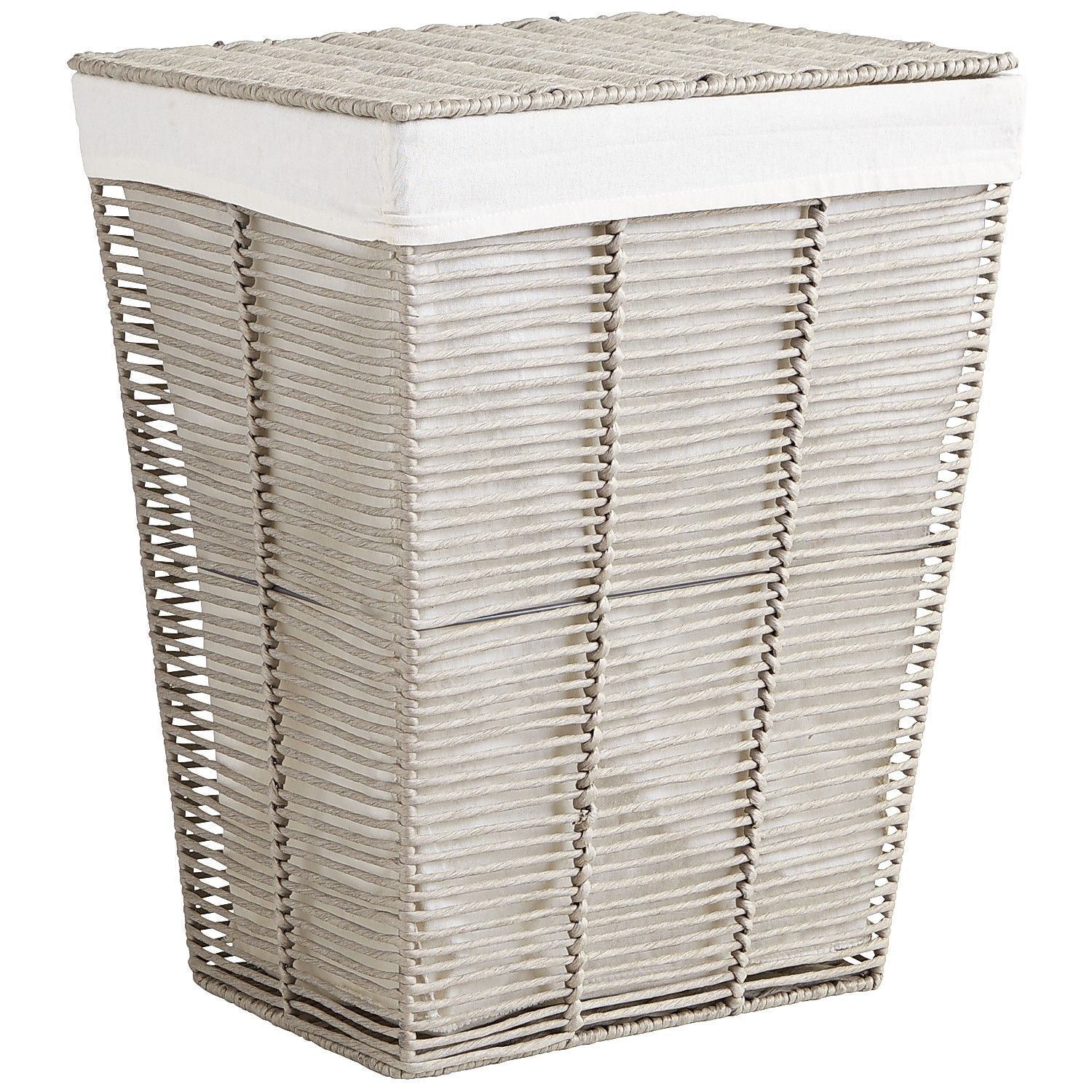 Wäschekorb Jysk Gray Paper Rope Laundry Hamper Products