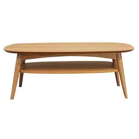 Skandi Oak Coffee Table In 2019 Coffee Table With Shelf Oak