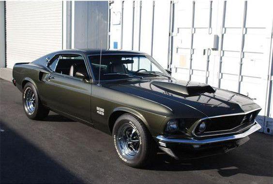 1969 Ford Mustang Boss 302 Autos Mustang Autos Y Motocicletas