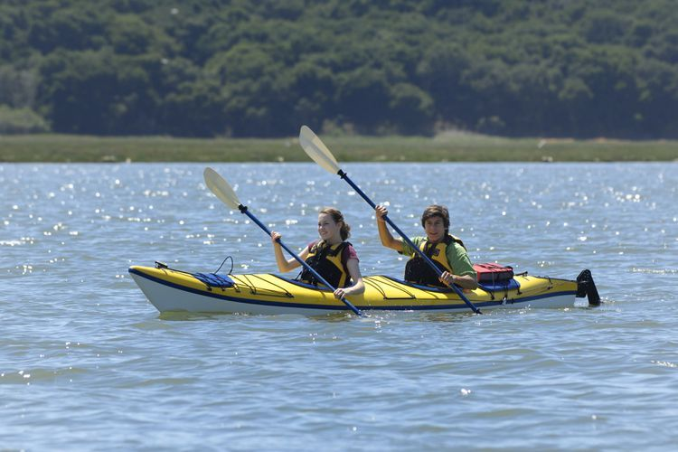 Tips On How To Paddle A Tandem Kayak Tandem Kayaking Kayaking Kayak Paddle