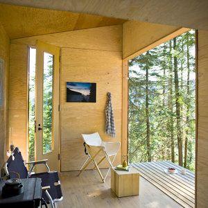 DIY cabin retreat: Interior