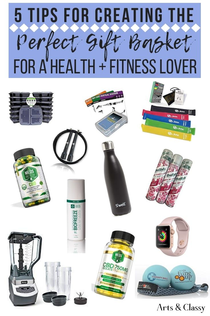 Fitness Gift Basket For Him : fitness, basket, Create, Perfect, Basket, Fitness, Lover, Classy, Basket,, Gifts, Lovers