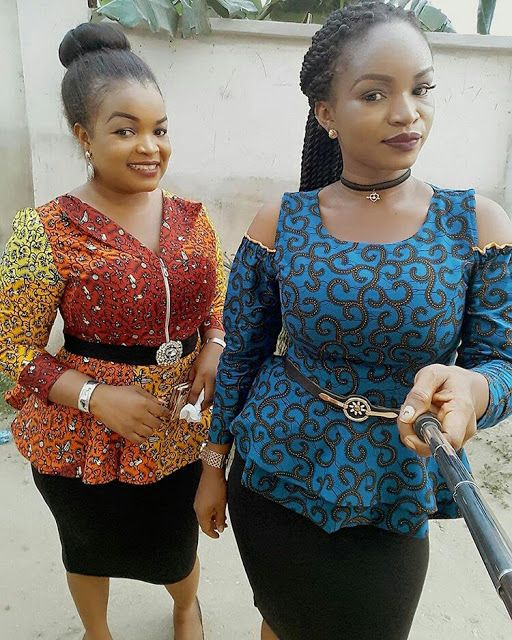 035d690e53e20 Check Out This Lovely Ankara Tops design for Ladies - DeZango Fashion Zone