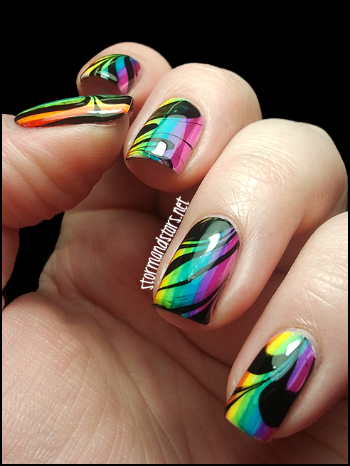 Stormandstarsnet Somewhere Over The Rainbow Watermarble
