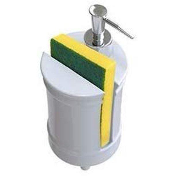 Comfify French Design Kitchen Soap Dispenser Sponge Holder Vanity Sink Organizer 12 6oz Shabby Chic Liquid Soap Dispenser With Premium Pump Ceramic Soap H In 2021 Kitchen Soap Dispenser