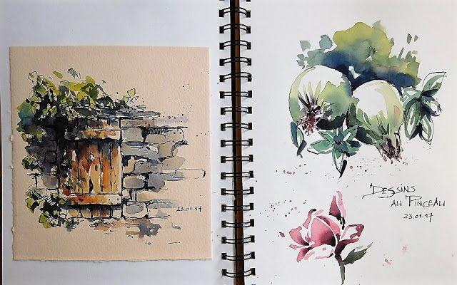 Bb Aquarelle Livre D Art Carnets De Voyage Aquarelle