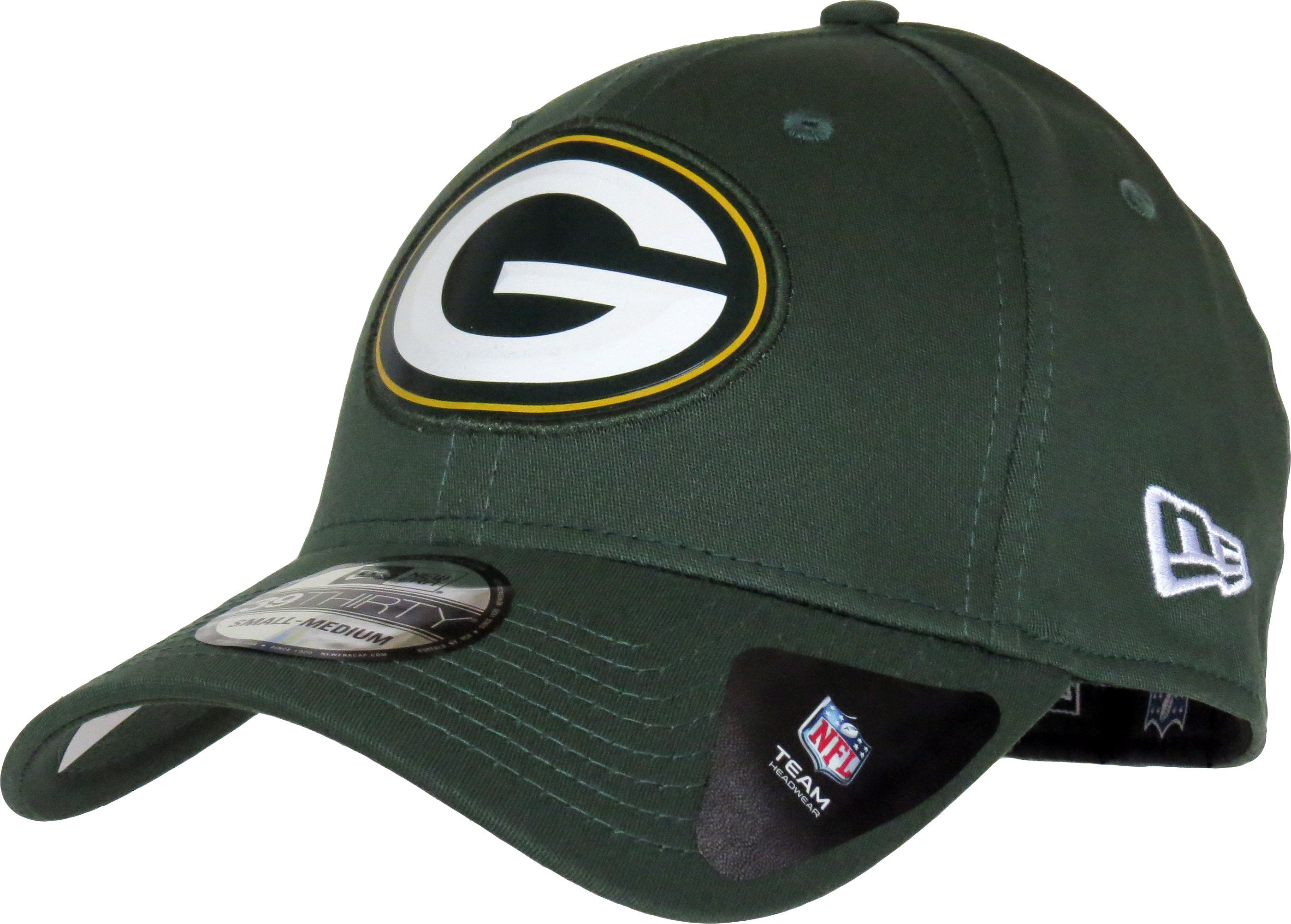 release date: new styles new product New Era 39Thirty NFL Team Logo Weld Stretch Fit Cap. Green, with ...