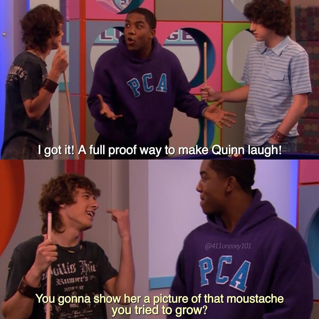 Logan And Michael Zoey 101 Tv Show Quotes Nickelodeon Shows